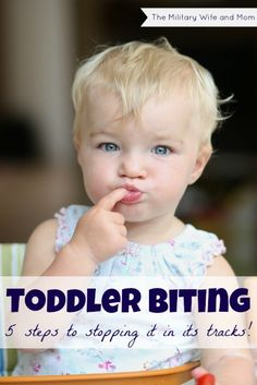 How to gently guide your toddler to stop biting without doing anything extreme. Great positive parenting tips.