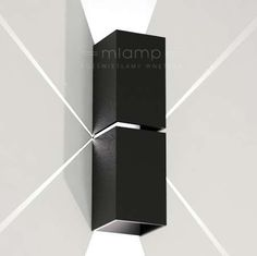 Kinkiet LAMPA ścienna NEMURO 4408/G9/CZ Shilo minimalistyczna OPRAWA metalowa prostokątna czarny Sconces, Wall Lights, Led, Lighting, Home Decor, Interiors, Ideas, Style, Living Room