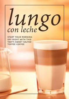 If you love the taste of sweet and salty, then this Lungo con Leche recipe from Nespresso is perfect for you. Draw out the sweet notes of salty toffee flavor in Envivo Lungo Grand Cru with addition of rich, creamy milk. Serve this easy coffee recipe at any time of the day to create a delicious Nespresso moment.