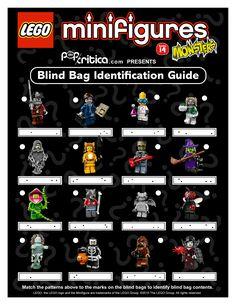 Identification Guide To Lego Disney Minifigure Blind Bag