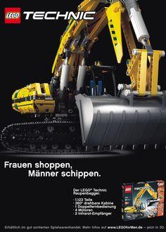 Kampagne: Nur für Männer — Agentur: Serviceplan Campaign — Kunde: LEGO — Jetzt noch mehr Kampagnen pur im Fischer`s Archiv! www.fischersarchiv.de