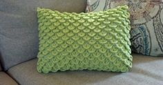 Make this trendy ruffle pillow as an accessory to your couch that also provides great lumbar support. The brighter the color, the better! ...