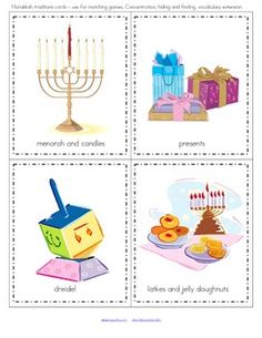 The teaching theme focus for this packet is HANUKKAH. Pre-K Theme for a Day includes all the activities and printables (to make hands-on centers and games) that you need for a full .day of teaching - and more. 45 pages