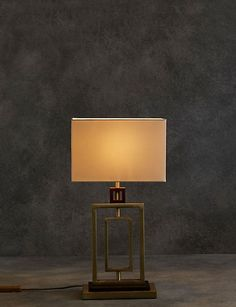 Buy the Landon Table Lamp from Marks and Spencer's range. Kids Wardrobe, Good Find, New Beds, Modern Prints, Blue Walls, Floor Lamp, Bedding Sets, Love Seat, Living Spaces