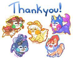 Gift:. Thankyou! by MegasArtsAndCrafts.deviantart.com on @DeviantArt