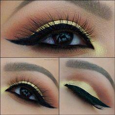 Sunset eyes bye missmaes on instagram. <3