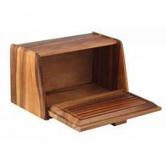Target Bread Box Fascinating Oak Wooden Bread Boxdustmaker2 On Etsy  For The Home Design Inspiration