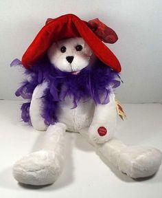 "22"" Sue Ellen Animated Bear Red Hat Society Sings Beatles I Will Chantilly Lane #ChantillyLaneMusicalsPBCInternational #RedHatSociety"