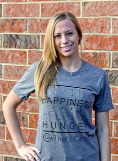 For the Mom who would literally give the shirt off their backs to help someone, give her a tee that they will be honored to wear. This tee spreads the awareness of hunger and with its purchase feeds a hungry child in the US. #mothersday #giftsthatgiveback