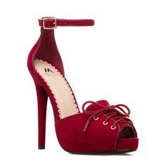 Sable - ShoeDazzle - Lace up loveliness.