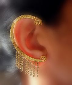 Greek Goddess Ear-Wrap.