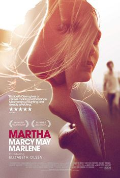 International Martha Marcy May Marlene trailer and poster have been released. Elizabeth Olsen, John Hawkes, Sarah Paulson and Hugh Dancy stars the movie directed by Sean Durkin. Elizabeth Olsen, Hugh Dancy, Design Graphique, Art Graphique, Photoshop, Image Internet, Martha Marcy May Marlene, Design Art, Print Design