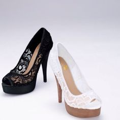 I totally just bought some shoes like this for prom :)