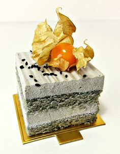 Black Sesame Yoghurt Mousse Cake | Anncoo Journal - Come for Quick and Easy Recipes