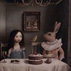 Creepy Art, Weird Art, Albert Jacquard, Arte Lowbrow, Surealism Art, Arte Peculiar, Arte Indie, Arte Obscura, Photocollage