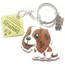 "Dog Key Ring ""Cavalier King Charles Spaniel"""