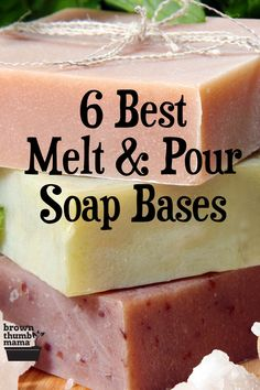 Learn which soap base is best for dry skin, sensitive skin, acne, and more with this comprehensive r Handmade Soap Recipes, Soap Making Recipes, Handmade Soaps, Diy Soaps, Soap For Sensitive Skin, Soap For Oily Skin, Dark Circle, Soap Melt And Pour, Natural Living