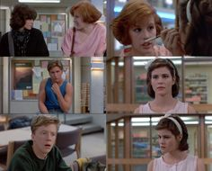 The Breakfast Club 80s Movies, Iconic Movies, Movie Tv, Movies Showing, Movies And Tv Shows, Breakfest Club, Movie Kisses, Funny Films, Fan Poster