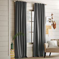 Cotton Canvas Window Panel