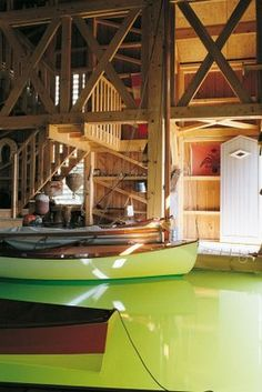 I want a boat house. I'm a simple girl with simple needs :P