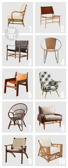 Top 10 – Accent Chairs
