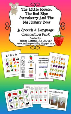 The Little Mouse, The Red Ripe Strawberry And The Big Hungry Bear