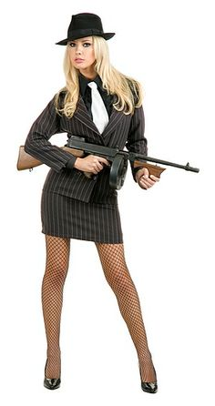 Gangster Moll Costume