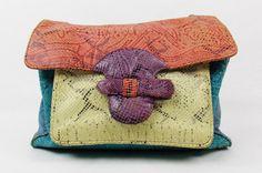 HALSTON rara vintage anni 70 pelle di serpente di Douvintage, $325.00