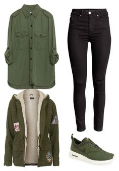 """""""Untitled #524"""" by hannahjoyjacob on Polyvore featuring Zara, Topshop, NIKE, women's clothing, women, female, woman, misses and juniors"""