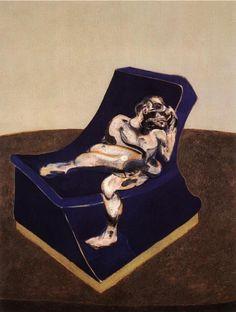 Francis Bacon 고독함이 느껴진다. 그의 다른 작품들 누군가와 함께있는 듯한 작품들에서도 고독함은 언제나 녹아져있다.