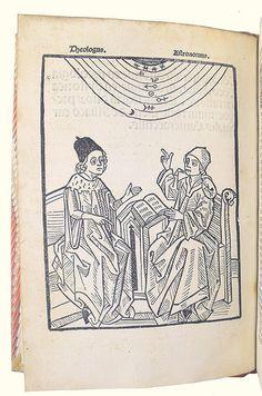 Woodcut illustration from Alliaco, Petrus de: Concordantia astronomiae cum theologia