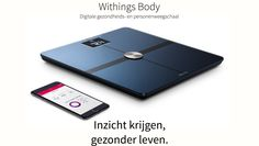 Withings Body   SHOP ONLINE: https://www.purelifestyle.be/technology/iphone/accessoires/gezondheid-fitness/withings-body-wifi-weegschaal.html