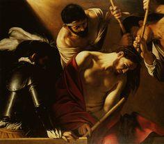 1598 1610 Le Caravage Couronnement du Christ