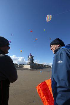 Spectacular kite-flying fun helped mark the Beacon's opening weekend. Kite Flying, Opening Weekend, Fun, Fin Fun, Lol, Funny