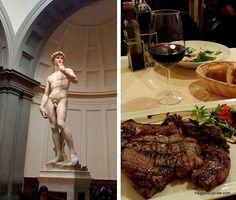 Comer em Florença - bisteca florentina