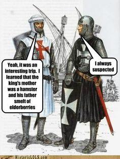 Good 'ol Monty Python reference!