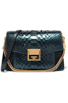 2725d986a3 Givenchy - GV3 small python shoulder bag