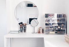Penteadeiras – decorar e organizar