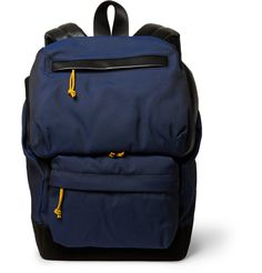 3a2a4cc72bd Alexander Wang - Wallie Leather-Trimmed Canvas Backpack   MR PORTER  Designer Backpacks, Canvas