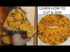 Full Umbrella Sleeve/Flutter Sleeve/Cutting and stitching/RR Fashion Point/Subtitles Saree Blouse Neck Designs, Fancy Blouse Designs, Dress Neck Designs, Sleeve Designs, Kurti Sleeves Design, Sleeves Designs For Dresses, Girls Dresses Sewing, Dress Sewing Patterns, Sewing Sleeves