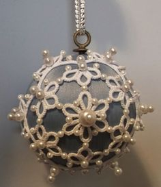 West Pine Creations: Pearl Ball