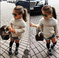 Cute outfit baby little girl fashion, baby girl fashion и baby swag. Little Girl Outfits, Little Girl Fashion, Toddler Fashion, Fashion Kids, Fall Fashion, Fashion 2015, Trending Fashion, Fashion Beauty, Moda Kids