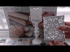 DIY Переделки товаров из Фикс Прайс. 3 варианта декора. - YouTube Elderly Crafts, Altered Bottles, Ornament Crafts, Bottles And Jars, Best Part Of Me, Ceramic Art, Beaded Jewelry, Decoupage, Stencils