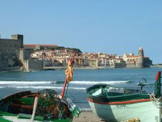 collioure, france. on the mediterranean, by the french/spanish border.