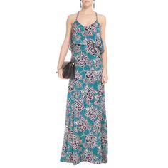 MARIA FILÓ - Vestido longo Maria Filó print floral - verde