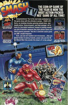 Smash T.V. NES Acclaim