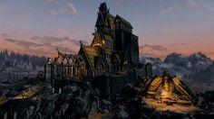 skyrim-whiterun-palace-sunset.jpg (1920×1080)