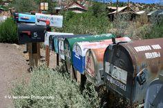Mailbox Row in Madrid NM by Visenhowerphoto on Etsy, $18.00