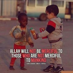 Allah will not be Merciful...