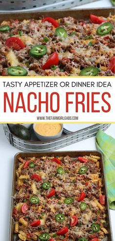When craving a plate of loaded nachos with a twist, this is the recipe for you. Nacho Fries are easy to make, take little time to prepare, and are loaded with lots of wholesome flavors. You can make this dish as an appetizer, the main course, or even a special dish for potluck with friends and family.
